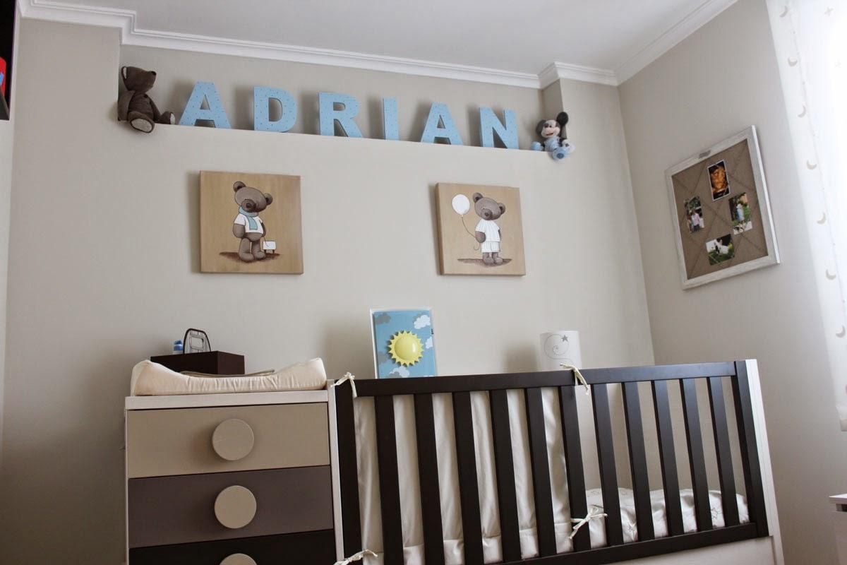 La habitaci n del beb paperblog for Habitaciones pintadas en gris azulado