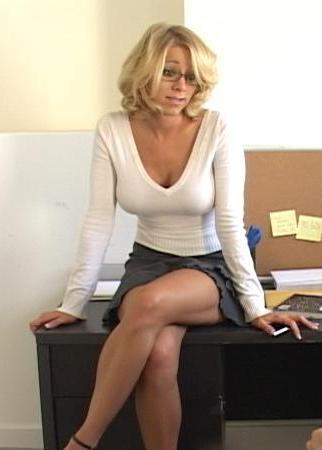 Maorgan office porn