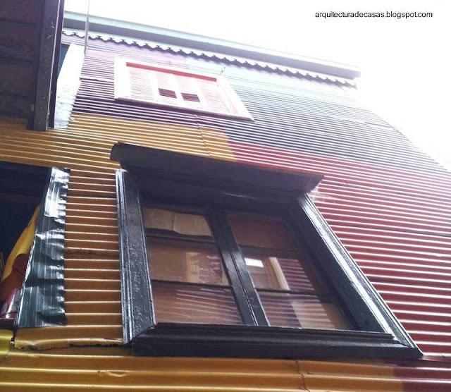 Pared y ventanas exteriores