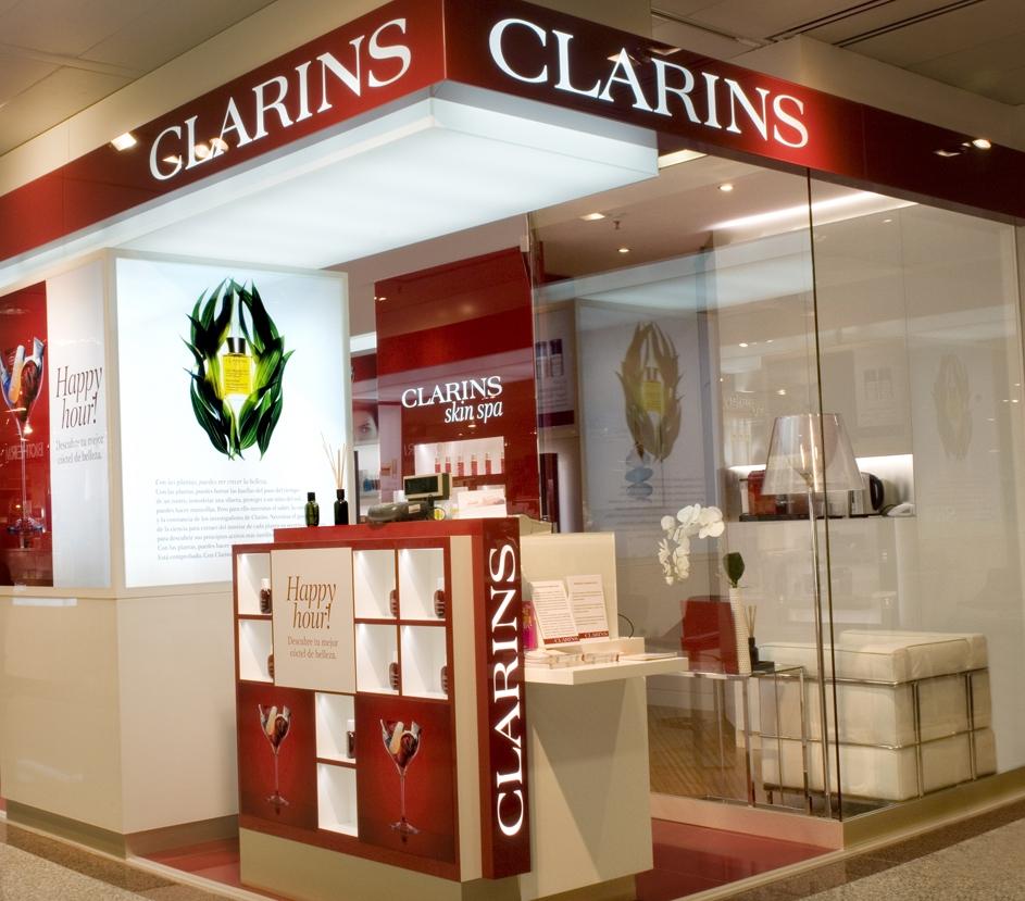 Nuevo skin spa castellana de clarins silvia quir s for Clarins salon