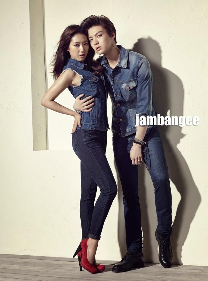 Park Shin Hye and Ahn Jae Hyun - Nylon Magazine March Issue 2014