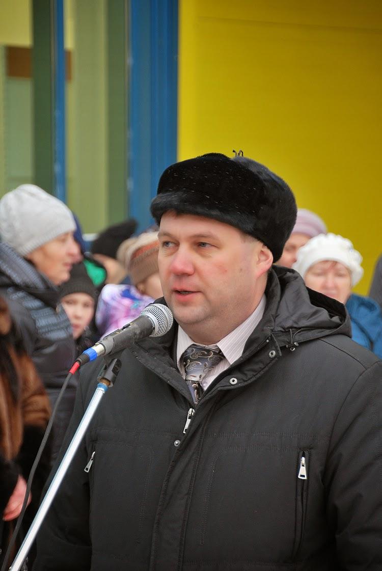 Андрей Шилов на открытии Лимон Молл