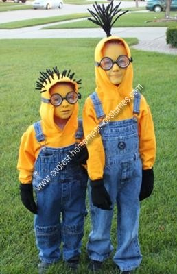 despicable me kids costume