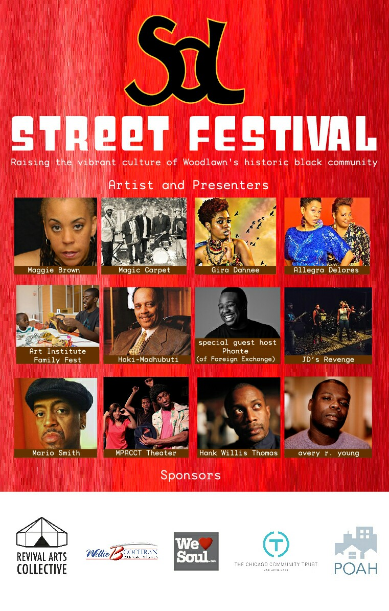 Saturday 9/12: 12noon-8pm SOL Street Festival
