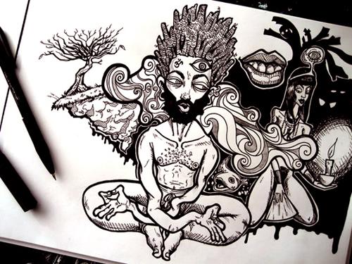 Kalkidan Assefa, Sketchbook Meditation