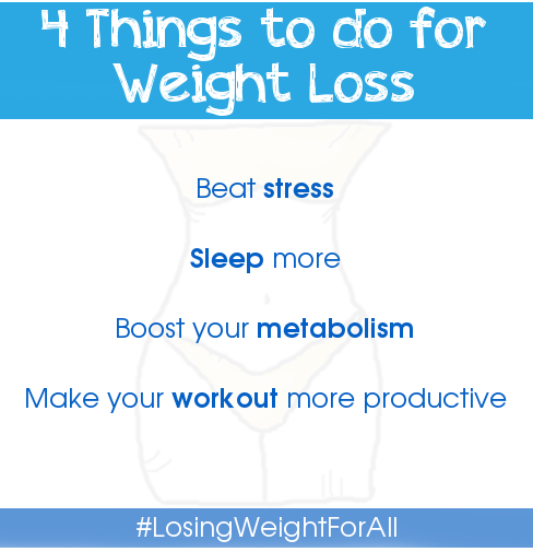 4 Things to do for Weight Loss