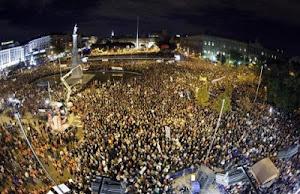 Manifestación 14 N Colón. Madrid