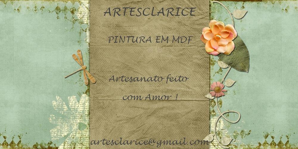 Artes Clarice Pintura em MDF Parceira CONDOR