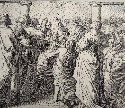 Ausgießung des Heiligens Geistes