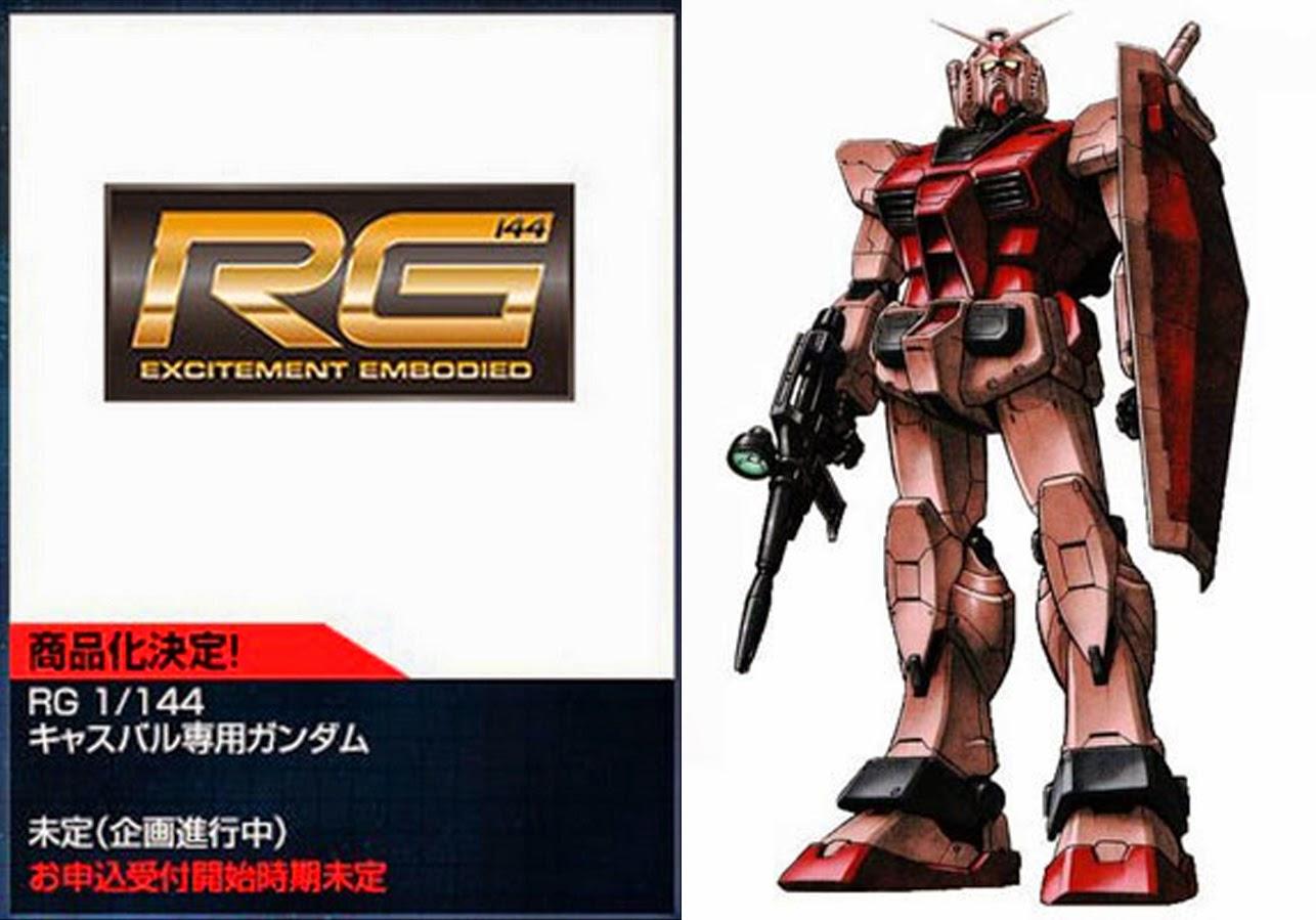 RX-78 CA P-Bandai Hobby Online Shop Exclusive: RG 1/144 RX-78/C.A. Casval's Gundam