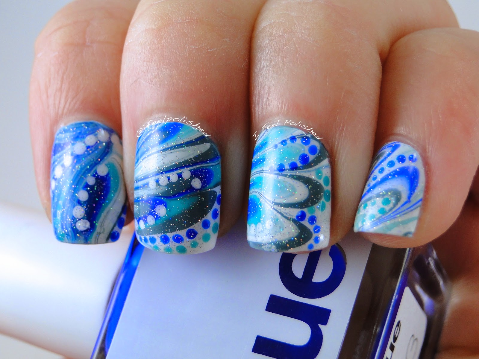 Chanukah Nails