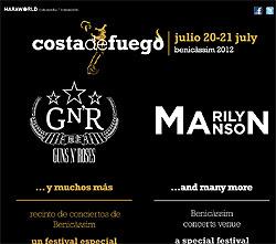 Opeth, Lacuna Coil o WarCry al Festival Costa de Fuego