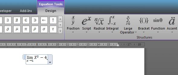 Cara Menuliskan Bentuk Persamaan dan Rumus Matematika Pada Microsoft Word