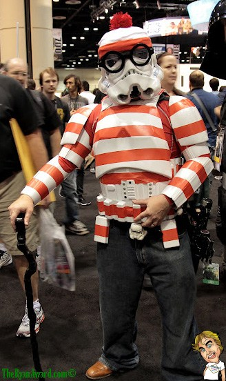 I Found Waldo!  Starwars Halloween Costume