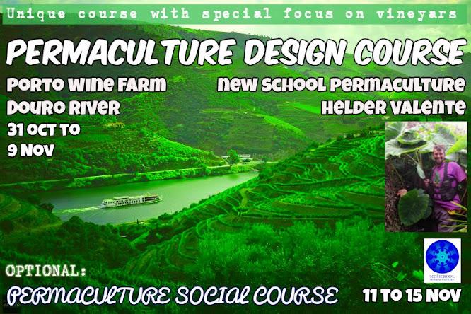PDC Permaculture Design Course - Douro River - Porto - Portugal