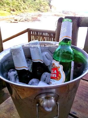 Blue Praia Bar: Balde de Cervejas Stella Artois