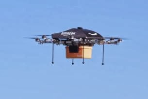 Dron, Amazon, Domicilio, Productos, EEUU
