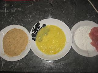 طريقة عمل ستيك الديك الرومي محشي بالجبن بالصور