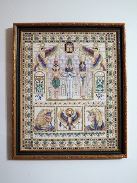 """Egyptian Sampler"" by Teresa Wentzler"