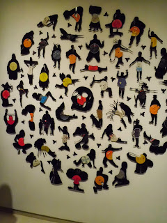 nit de l'art arte con discos