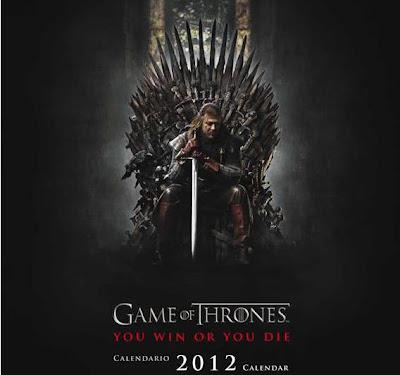 Game of Thrones {TV Series} Calendario+2012+Juego+de+Tronos