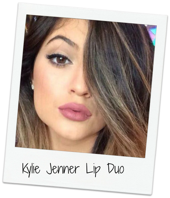 kylie jenner lip duo mac brave lipstick soar lip liner pencil