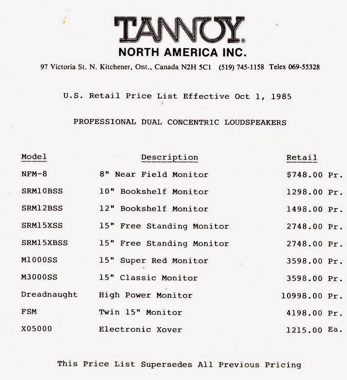 Tannoy Super Red Monitor Srm10b
