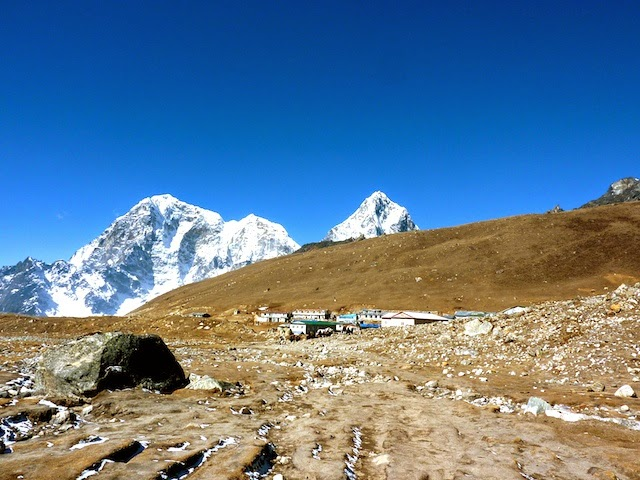 View on Lobuche EBC Trek