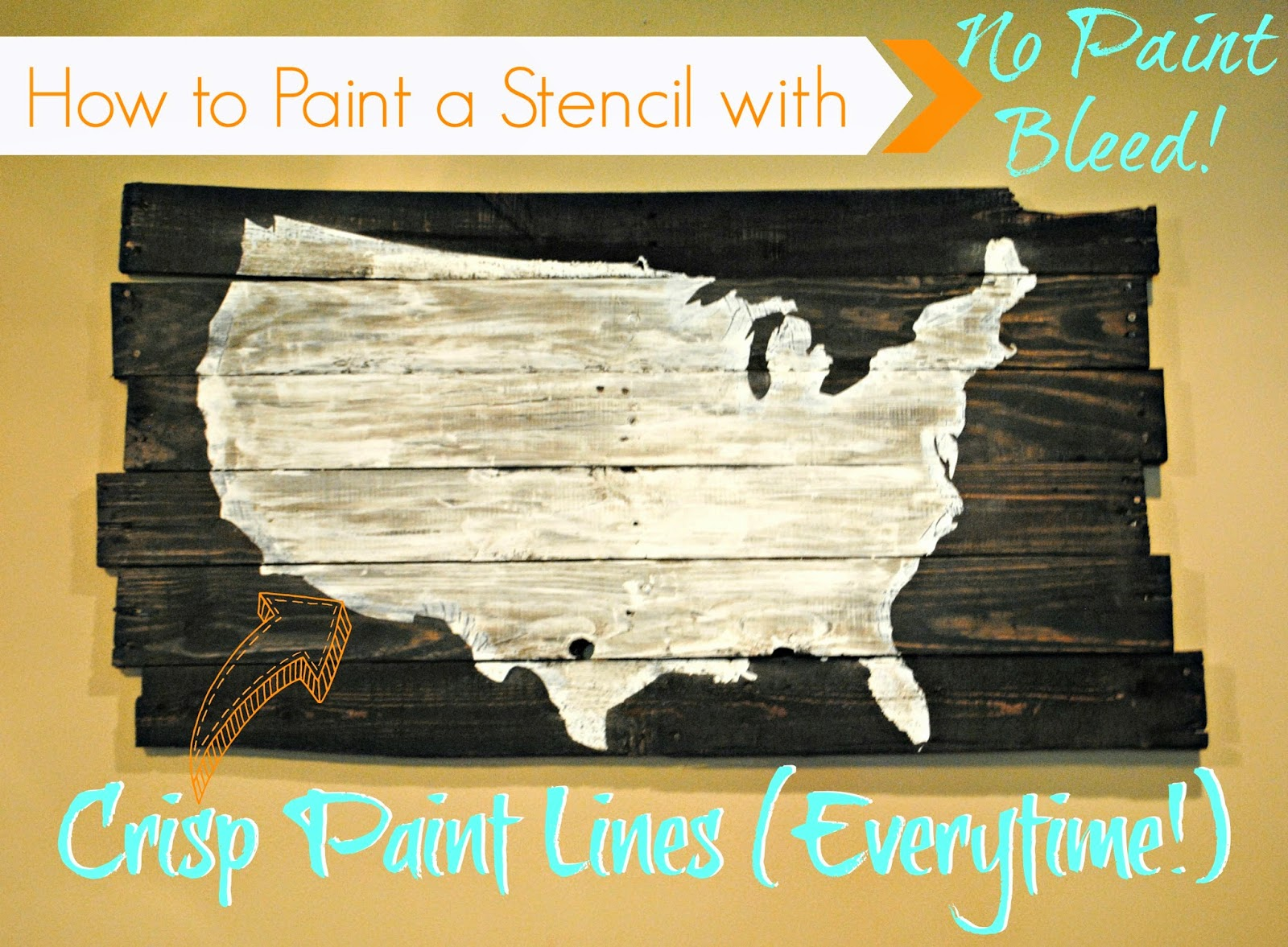 How To Paint A Stencil Without Bleeding Silhouette School