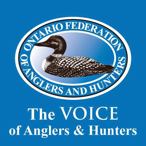 Logo Ontario Federation of Anglers and Hunters - The VOICE of Anglers & Hunters