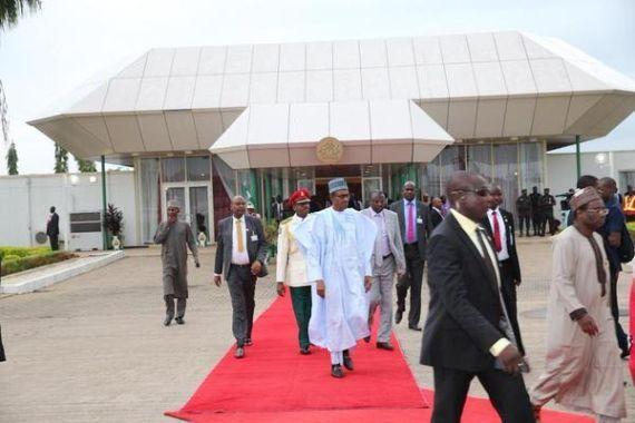Buhari departs Nigeria for  Republic of Benin