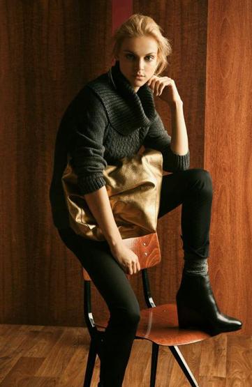 Massimo Dutti lookbook mujer otoño invierno 2011 2012