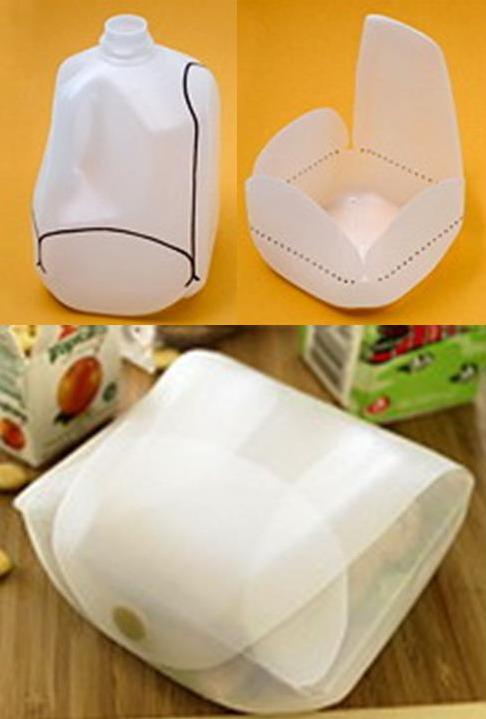 Plastic Milk Jug Crafts