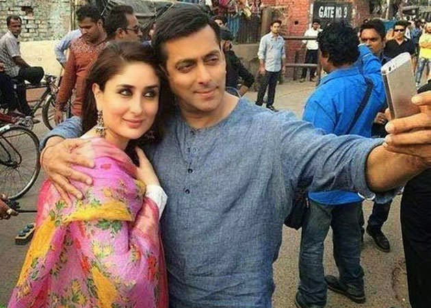 Salman Khan & Kareena Kapoor Khan on Bajrangi bhaijaan shooting