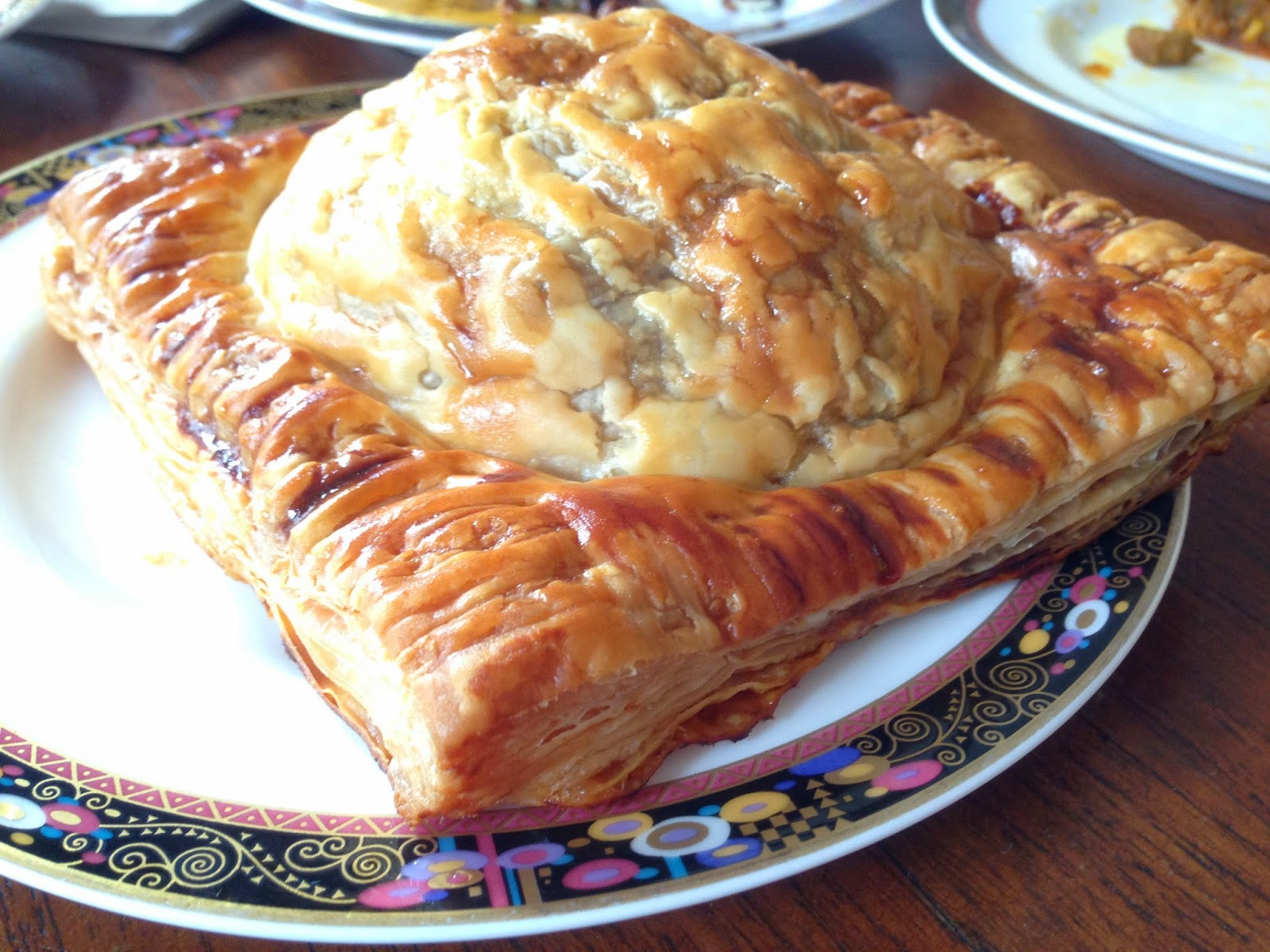 Beef with Onion Pie