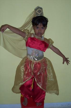 Nama Kostum : Kostum Arabic Girl