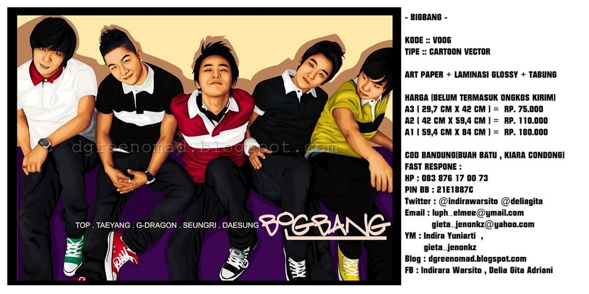 Poster Vektor Dan Wpap Soekarno Hatta , Kpop , The Beatles