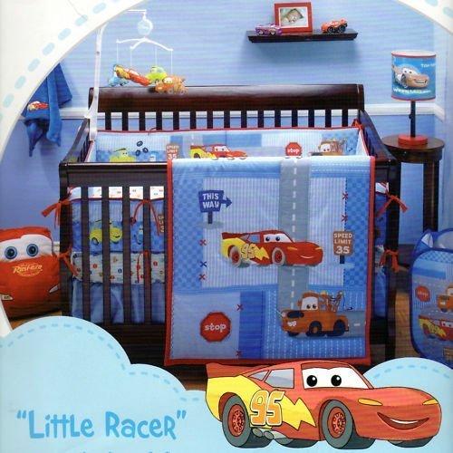 Race Car Themed Crib Bedding