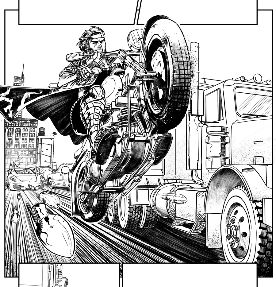Rogue And Gambit Coloring Pages Gambit Coloring Pages