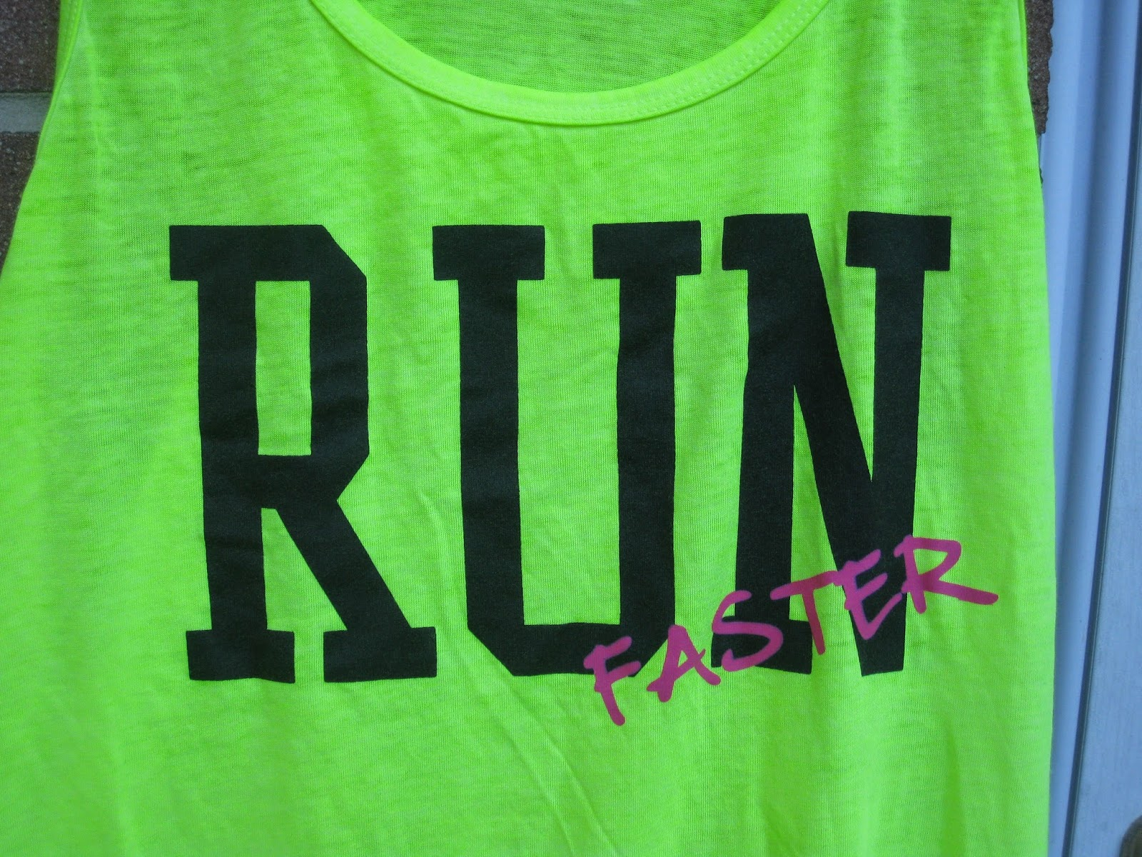 Neon Yellow Chin Up Apparel Tank Top in Size Large
