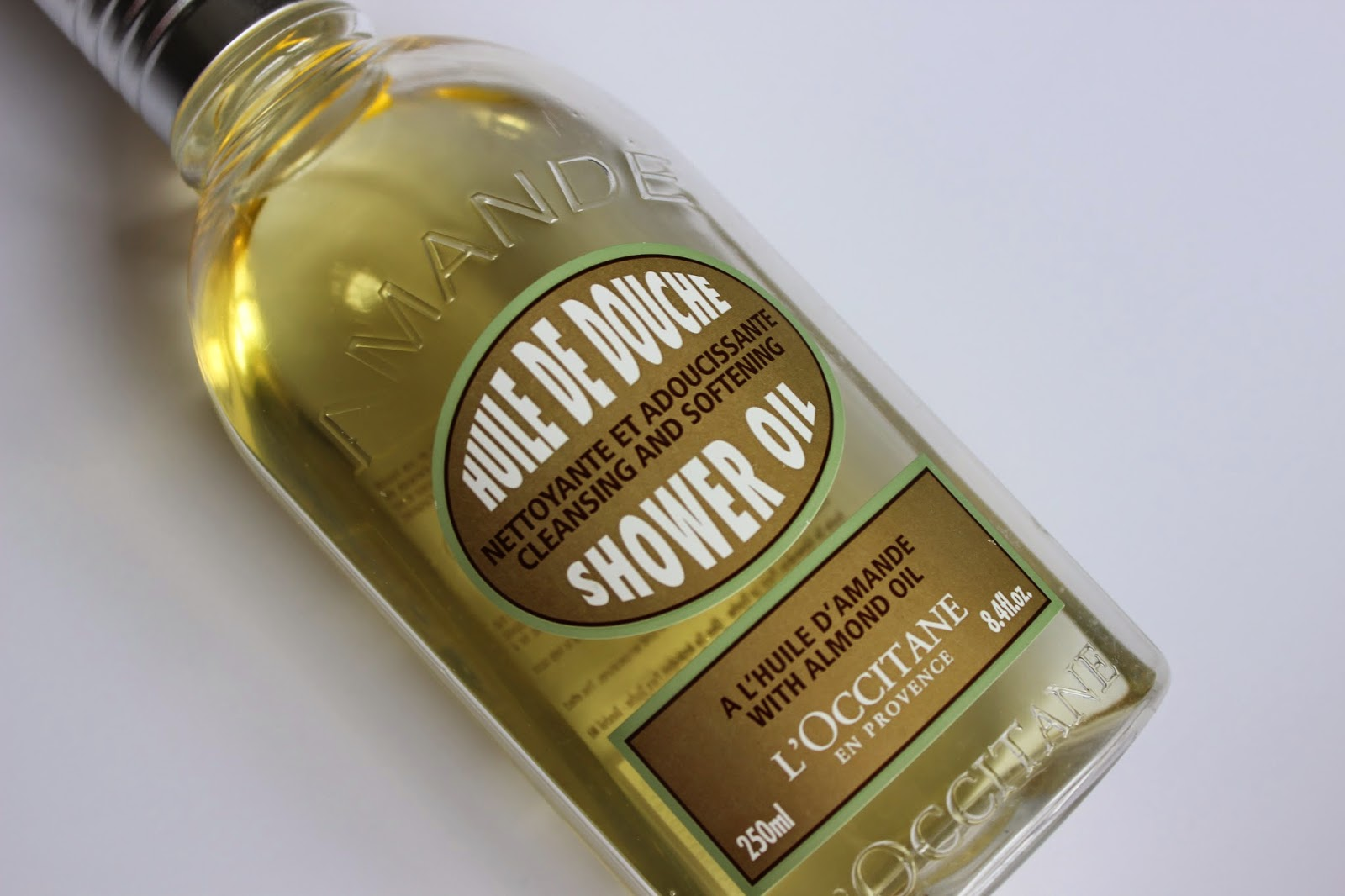 L'Occitane, Shower Oil, review, Sephora, dry skin, HG, body