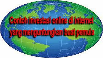 Anda pemula dibidang internet dan Anda ingin mendapat penghasilan dari internet dengan  Bisnis Investasi Online Tanpa Resiko Buat Pemula