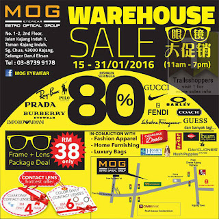 MOG Eyewear Warehouse SALE