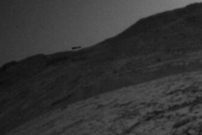 Black UFO Captured By Mars Rover 2015, UFO Sighting News