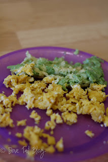 Feeding Baby: Avocado with Lime and Eggs with Smoked Paprika