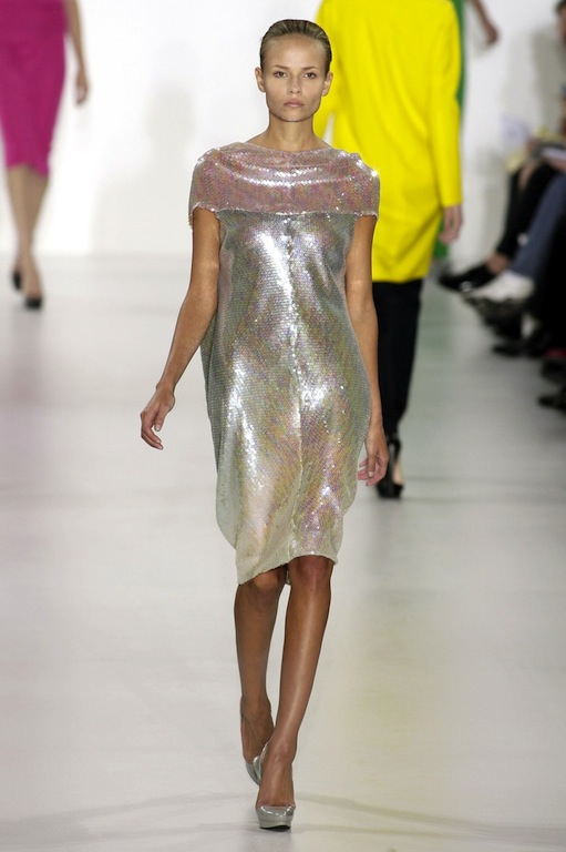 81e2a3272 Jil Sander Spring 2007 Rainbow Metallic Sequin Dresses and Skirts. (TFS)