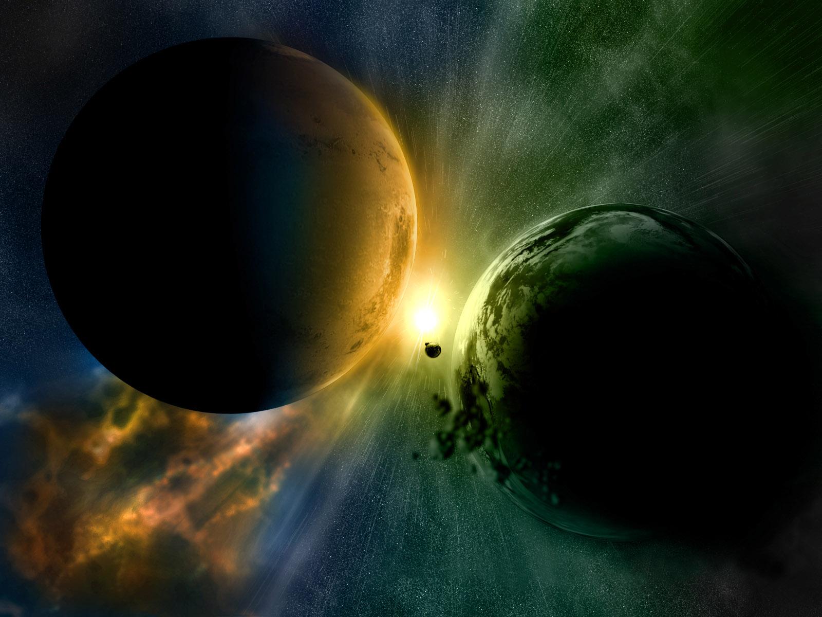 Desktop backgrounds 4u planets for Immagini 3d hd