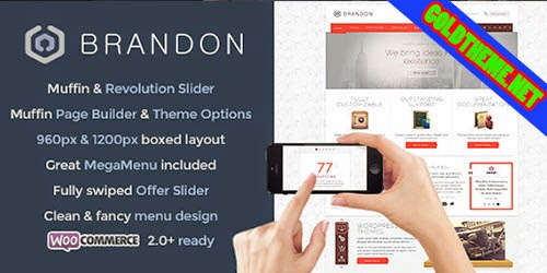 Brandon v1.6.3 Responsive Multi-Purpose WordPress Theme