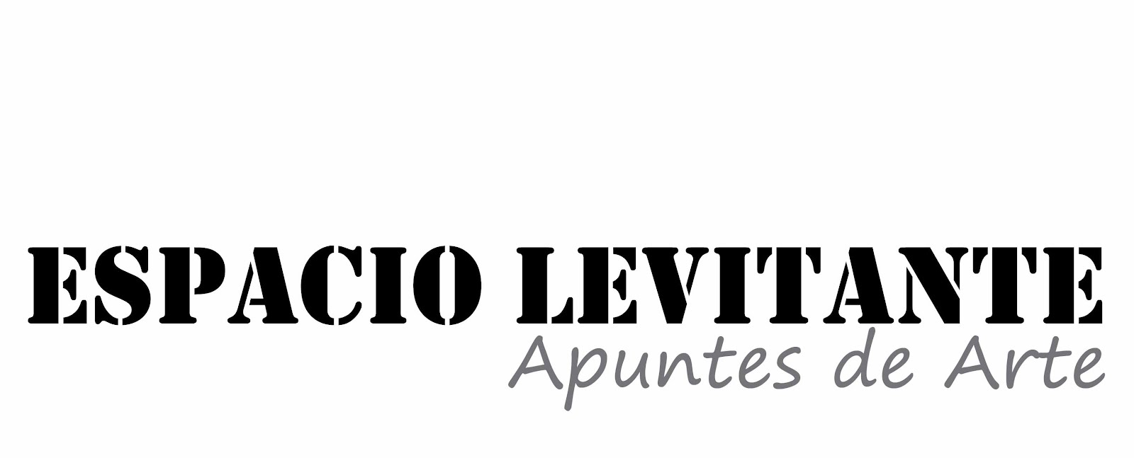 ESPACIO LEVITANTE