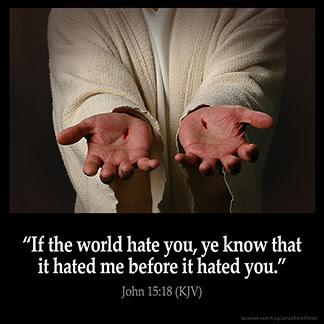 วันเสาร์ สัปดาห์ที่ 5 เทศกาลปัสกา: ความเกลียดชังและการเบียดเบียน